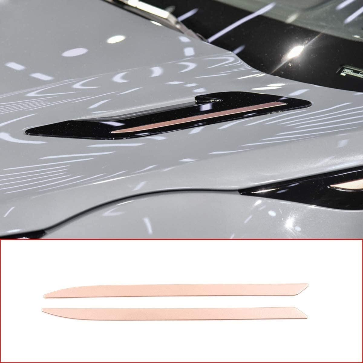 Onlogo Purchase Apply to Rose Gold safety ABS Auto Accessories R Engine Exterior
