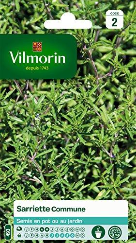 Vilmorin 5879346 Pack de Graines Sarriette Commune