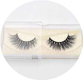 Handmade Eyelashes Cross False Eyelashes Free Cruelty Dramatic 3D Eyelashes Long Lasting Faux Cils For Makeup Tools,E8