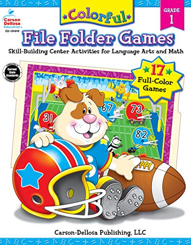 Colorful File Folder Games, Grade 1 (Colorful Game Book Series)