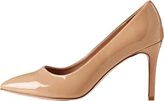 Marque Amazon - find. Wide Fit Point Court Shoe, Escarpins Bout fermé femme