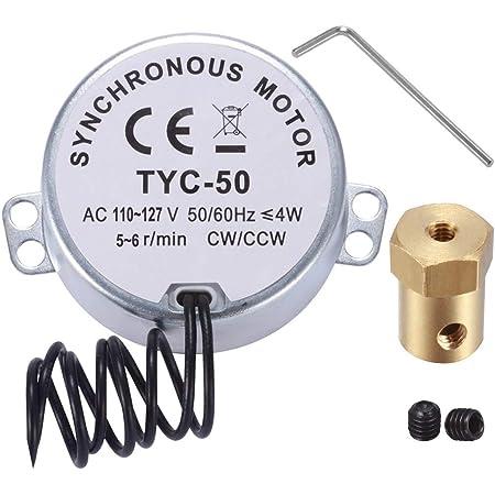 TYC-50(S)Synchron Motor 110V Electric Motor 4W synchronous motor 20-24 RMP