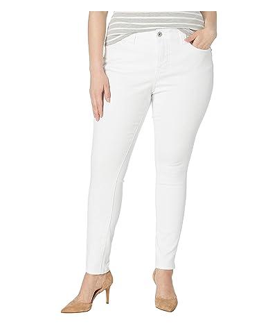 Jag Jeans Plus Size Plus Size Cecilia Skinny Jeans (White) Women