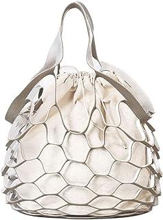 YUENA CARE Retro Fishing Net Handbag Purse Tote Mesh Shopping Clutch Shoulder Bag