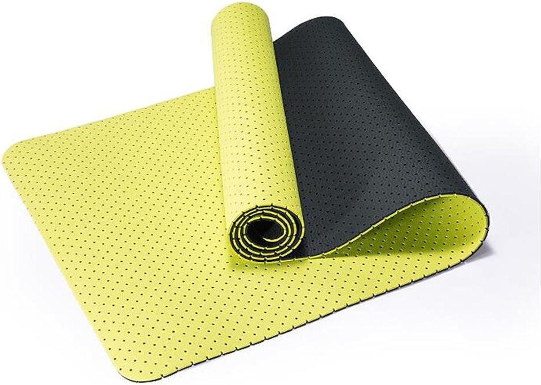 TPE Bienenwabe Hohle Breathable Yoga-Matte Verdickung Erweiterung Anti-Rutsch-Yoga-Matte Tasteless Environmental Yoga Mat