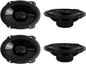 2 Pairs of Rockford Fosgate Punch P1683 260W Peak (130W RMS) 6