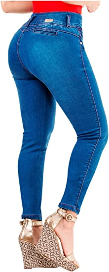 Lt Rose Butt Lifting Colombian Jeans Pantalones Colombianos Levanta Cola Amazon Com Mx Ropa Zapatos Y Accesorios