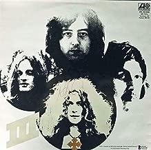 Robert Plant Vintage Signed Autographed Led Zeppelin III Album LP Beckett BAS - Beckett Authentication