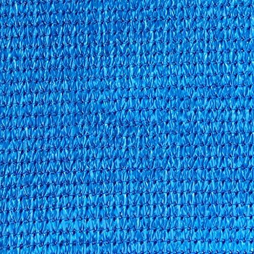 FLAMY Malla de sombreo,Vela de Sombra Triangular/Rectangular, a Prueba de Viento, Impermeable y a Prueba de Rayos UV, Adecuada para Acampar en la terraza del jardín, 4X4M, Color Opcional