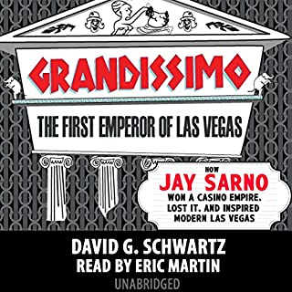 Grandissimo: The First Emperor of Las Vegas audiobook cover art