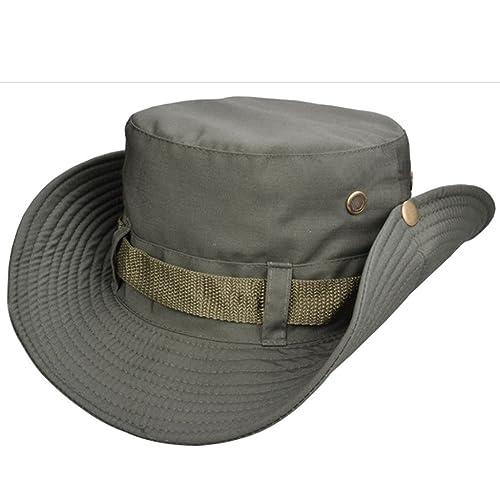 5c2da7817278ba Beileer stylische Sun Hat UV-Schutz Outdoor Bucket Hat für Outdoor Angeln  Camping Radfahren Jagd