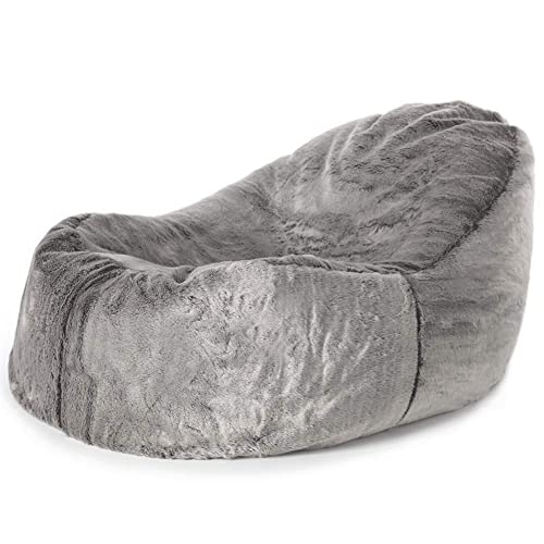 9af8ad538b6 icon Kenai Faux Fur Dream Lounger Bean Bag - 110cm x 86cm - Giant BeanBag  Day