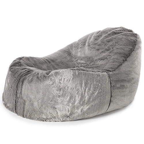 icon Kenai Faux Fur Dream Lounger Bean Bag - 110cm x 86cm - Giant BeanBag  Day 419947b2c31ec