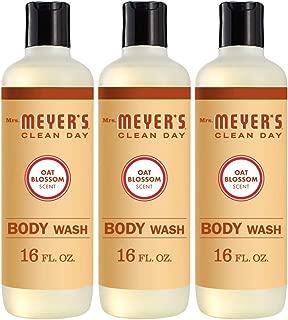 Mrs. Meyer's Body Wash, Oat Blossom, 16 OZ
