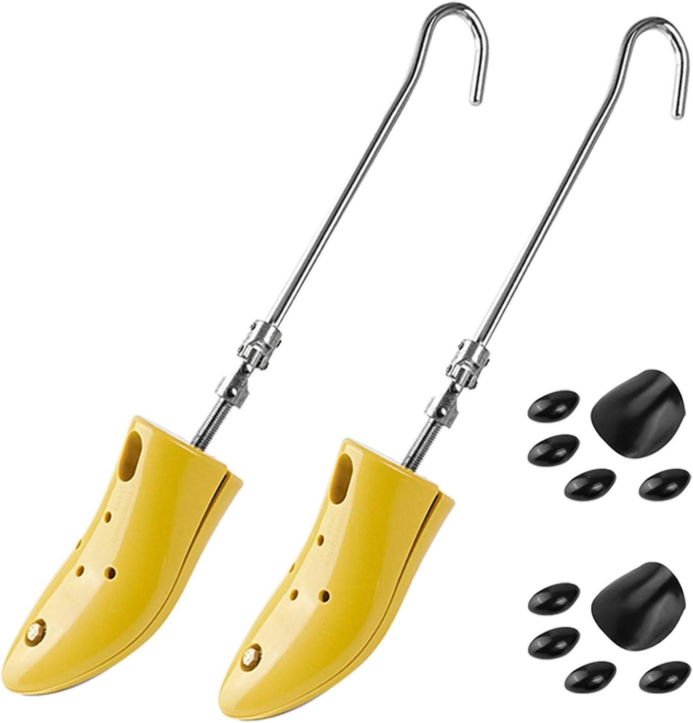 altezza per stivali e scarpe lunghezza regolabile Scarpiera per donna e uomo espansore per collo del piede un paio di allargatori per scarpe a 4 vie DAMENGOTA