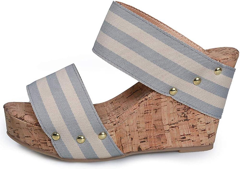 Vimisaoi Women's Vintage High Heel Sandals New Orleans Nashville-Davidson Mall Mall Bohem Platform Wedge