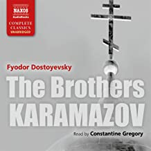 brothers karamazov audiobook