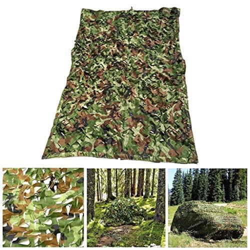 Malla de Camuflaje Militar - Toldo for Sombrillas Al Aire Libre Woodland Camo Nets Red de Caza for Acampar Tela Oxford Impermeable Multi-tamaño Opcional (Size : 2×6m(6.5ft x 20ft))