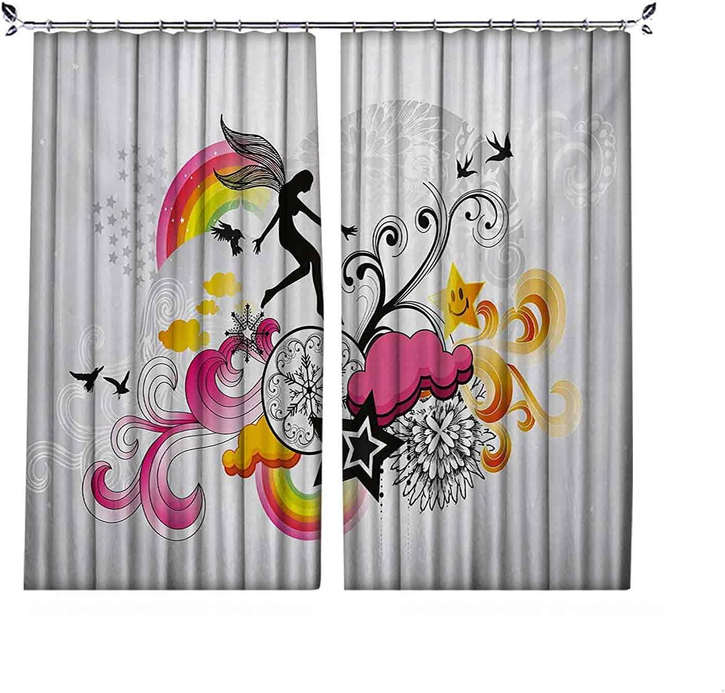 Pinch Pleat Textured Modern Curtains Bombing new work Theme Design Floral Max 73% OFF Swirl
