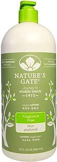 Nature's Gate Moisturizing Lotion Fragrance Free, 32 Fluid Ounce