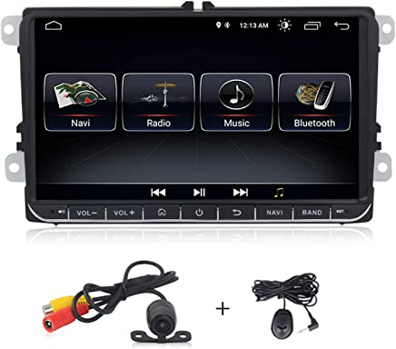 Android 8.1 system 9 inch Car stereo for Volkswagen VW Passat Golf MK5 Jetta Tiguan T5