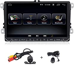 Android 9.0 system 9 inch Car stereo for Volkswagen VW Passat Golf MK5 Jetta Tiguan T5 Skoda Seat GPS Car Navigation GPS Radio