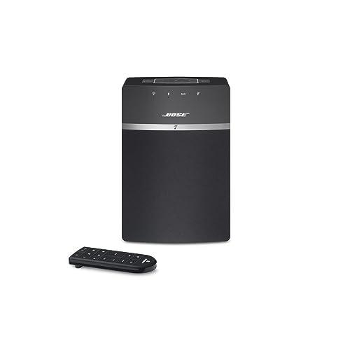 Bose SoundTouch 10 Système Audio sans Fil avec tous les appareils avec Amazon Alexa intégré - Noir