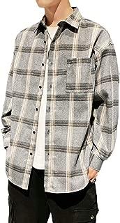 SUN BROSE(サン ブローゼ) ビター系 ビックシルエット チェックシャツ ネルシャツ ストリート お洒落 メンズ