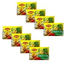 Maggi Vegetable Cubes, 8 x 18 g