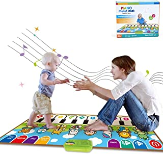 Musical Mats Toys, Piano Music Dance Mat for 1 2 3 4 5 Years