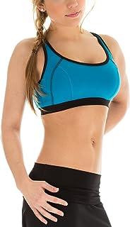 WINSHAPE Winsshape Women's Fitness Leisure Push up Sports Bra WVR3, Womens, Fitness Freizeit Push Up Sport BH, Turquoise