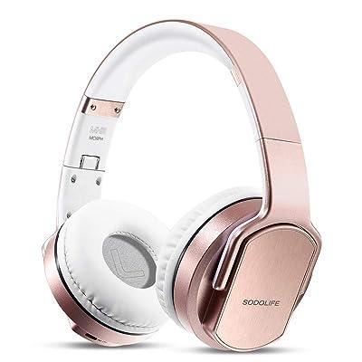 Wireless Headphones Speakers 2 in 1, SODOLIFE H...