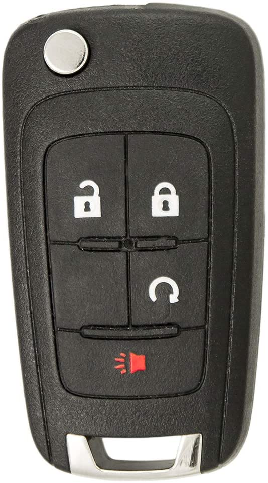 Keyless2Go 2021 autumn and winter new Replacement for New Orleans Mall Keyless Remote 4 Button Car Key Flip