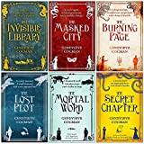 Invisible Library Series 6 Books Collection Set By Genevieve Cogman (The Invisible Library,The Masked City,The Burning Page, The Lost Plot, The Mortal Word, The Secret Chapter)