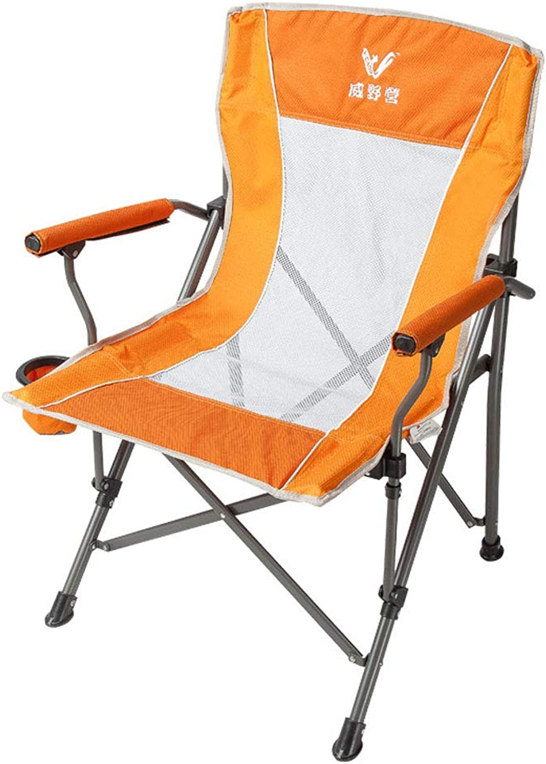 Camping Chair Breathable Folding Chair mesh Yarn Chair Leisure Chair Fishing Chair Beach Chair