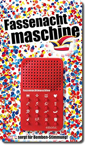Emons Verlag Mainzer Fassenachtmaschine: Soundmaschine mit Schnur zum Umhängen