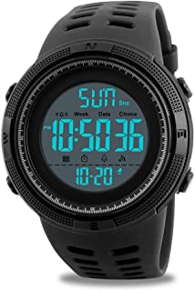 7f360e4e654a65 Orologio digitale, da uomo sportivi casual militare elettronico orologi  maschi correre moda impermeabile orologio da