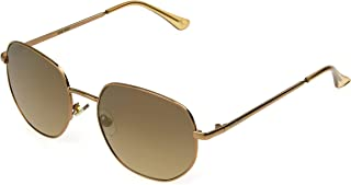 NINE WEST Women's Cat Sunglasses Geo Round