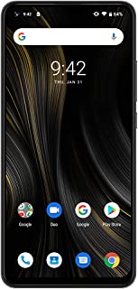 UMIDIGI POWER3 Android 10.0フリースマートフォン 6150mAh超大容量バッテリー 48MP + 13MP + 5MP + 5MP AIクアッドカメラ+16MPフロントカメラ RAM 4GB+ROM 64GB 10 W急速逆充電付き 18W高速充電付き6.53インチ 2340 x 1080/FHD+ 顔認証 指紋認証 技適認証済み 「グレー」