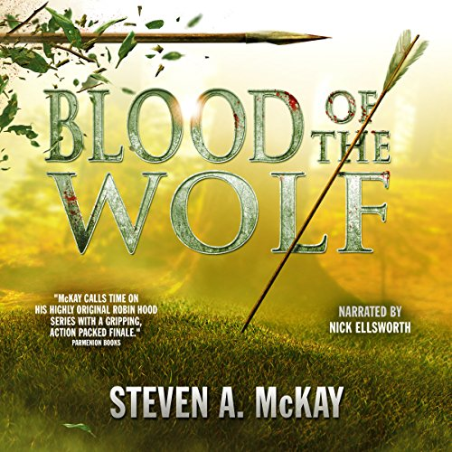 Blood of the Wolf audiobook cover art