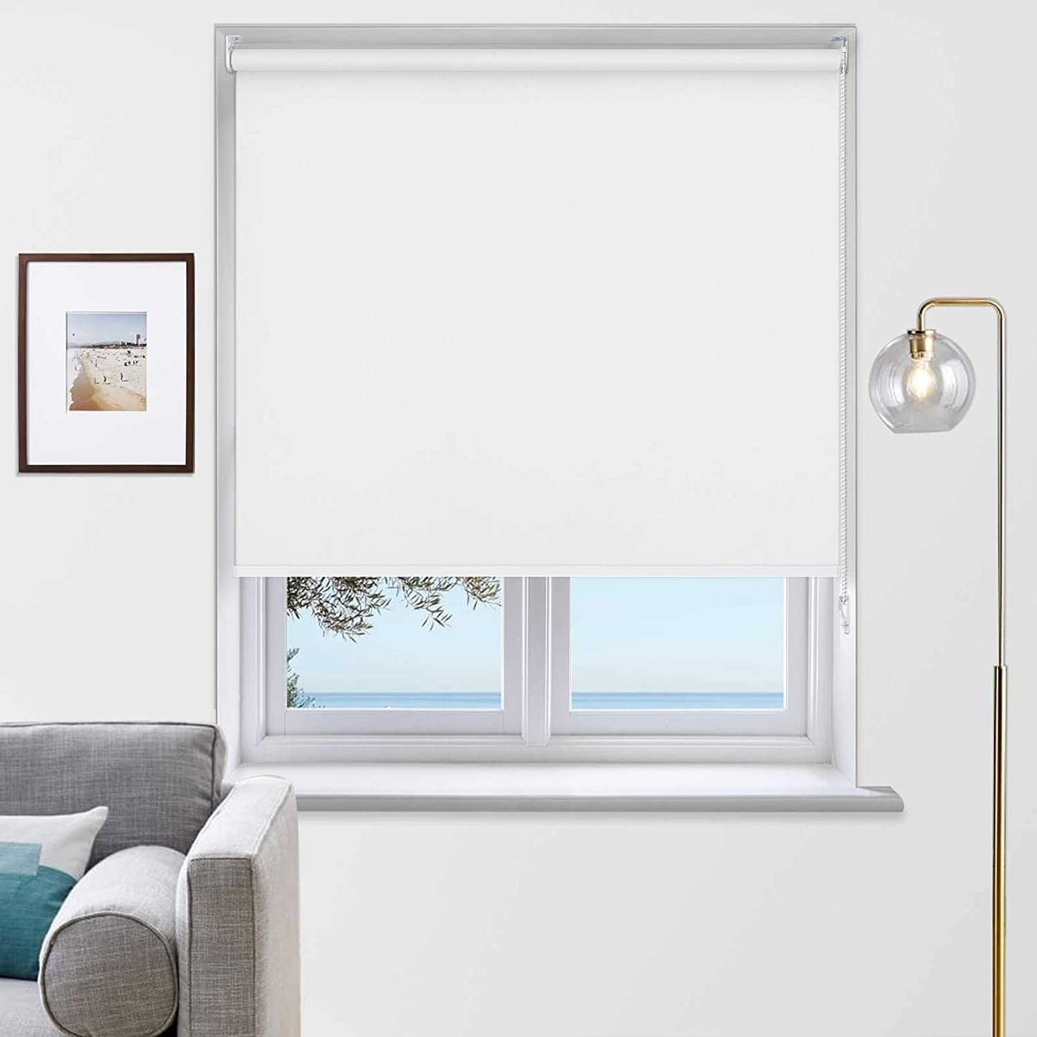Max 70% OFF MiLin Blackout shop Roller Shades Room Sh Darkening Window and Blinds