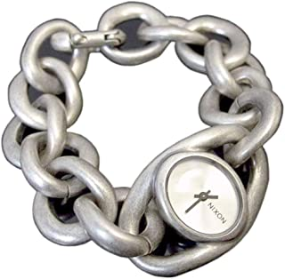 نيكسون اليس ساعة كاجوال للنساء ، حزام ستانلس ستيل ، فضي - A161473