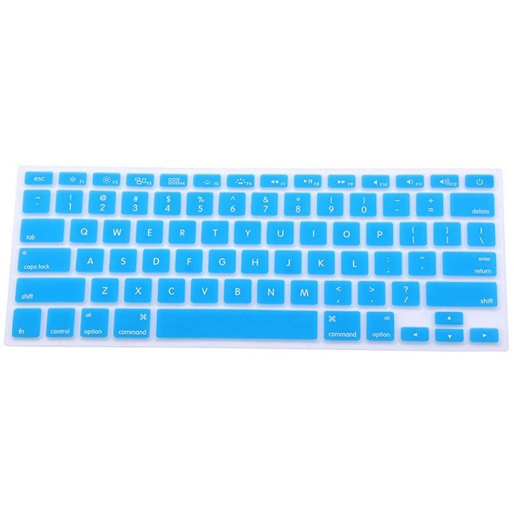 Apple Keyboard Protector for MacBook Pro 13 inch Case Key Board Covers Compatible MacBook Pro 13/15 2015 or Older Version and Older MacBook Air 13 Inch 2010-2017