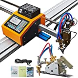 VEVOR CNC Plasma Cutter 63' x 98', BUY ONE GET Another Track Torch, Portable CNC Machine 110V, Professional Plasma Cutting Machine, Flame Cutting Machine for Oxyfuel and Plasma Cutting
