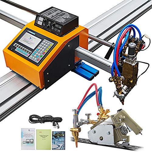 """VEVOR CNC Plasma Cutter 63"""" x 98"""", BUY ONE GET Another Track Torch, Portable CNC Machine 110V, Professional Plasma Cutting Machine, Flame Cutting Machine for Oxyfuel and Plasma Cutting"""