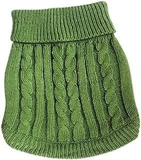 Tangpan Turtleneck Classic Straw-Rope Pet Dog Sweater Apparel