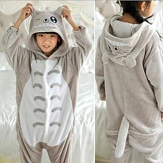 Disfraces de Dibujos Animados Nueva Animal Pijama de algodón de los niños del Oso Gato Tigger Cerdo Muchachas de los bebés Manta Durmiente Niños Pijamas (Color: 9, tamaño: 5) (Color : 7, Size : 3T)