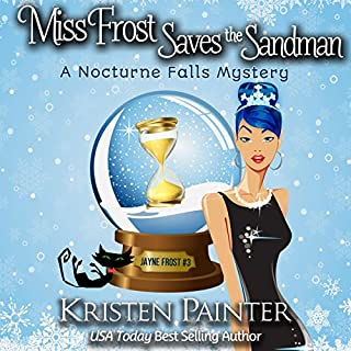 Miss Frost Saves the Sandman audiobook cover art