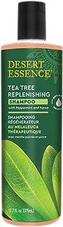 Desert Essence Tea Tree Replenishing Shampoo 12.9 fl oz (382 ml)