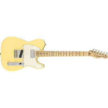 Fender American Performer Telecaster Hum - Vintage White with Maple Fingerboard